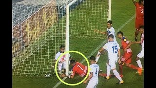 El gol fantasma de Panamá que dejó a Estados Unidos fuera de Rusia 2018.