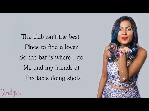 Ed Sheeran - Shape Of You | Cheez Badi Hai (Vidya Vox Mashup Cover)(Lyrics)