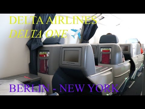 Delta One Business Class | Boeing 767-300 | Berlin-New York | Trip report