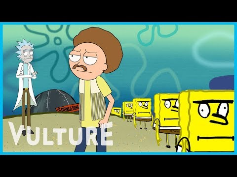 Rick and Morty x Vulture: A Trip to 'Spongebob Universe Show'