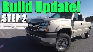 duramax build project update 5 inch mbrp straight pipe install and tutorial