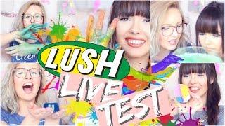 Krasser Lush LIVE TEST ✅   ViktoriaSarina