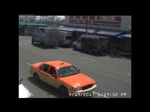 4-19-2017 Full Speed Hit N Run 13h15m Autobahn in East Oakland Little Saigon District full un-edit