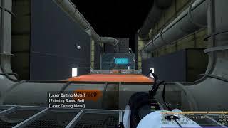Illuminati Gaming: Portal 2 | Gelocity Speed Track Part 1 (FULL SETTINGS 60FPS)