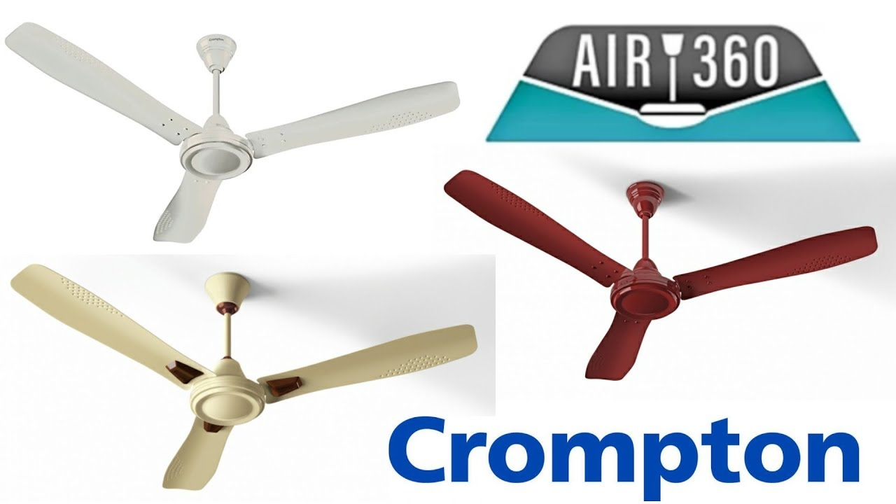 CROMPTON AIR 360 DECO CEILING FAN REVIEW (1ST TIME ON YOUTUBE ...