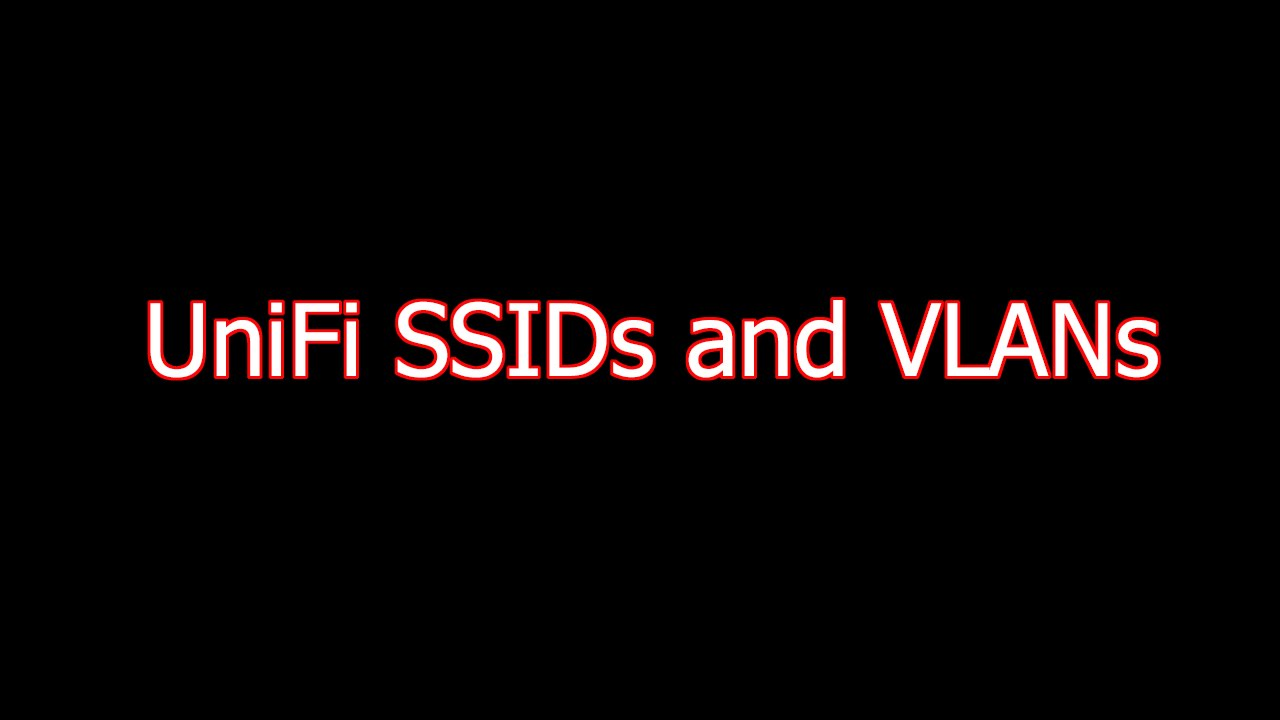 Ubiquiti Networks - UniFi Controller - VLANs and SSIDs