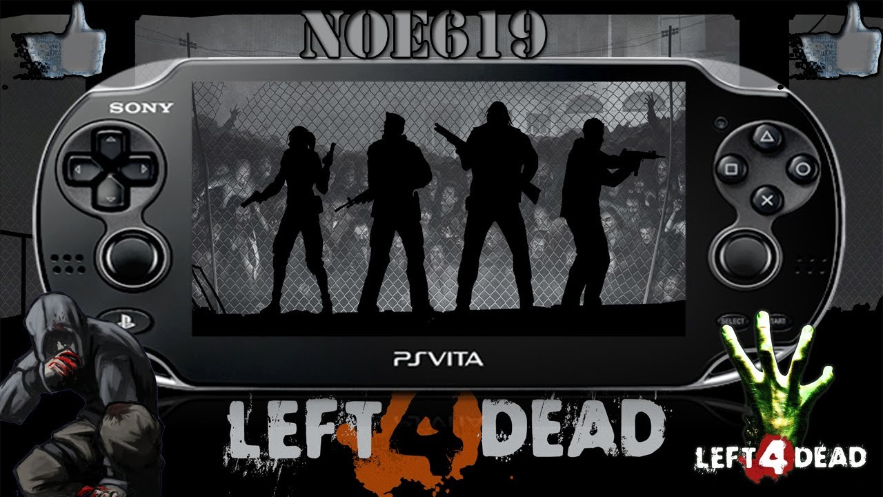 Left 4 Dead Ps Vita Español Gameplay A Matar Zombies O O Youtube