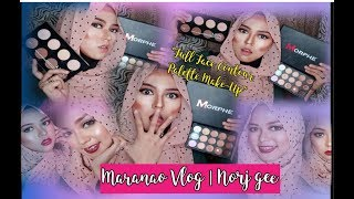 Full Face Using Contour Palette Make-Up | Maranao vlog | Marawi City, Phil. | Norj gee