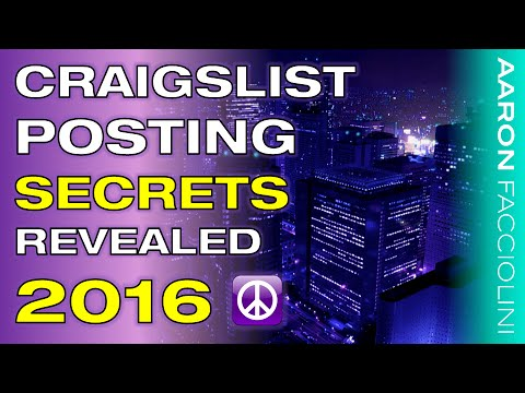 How to Post Ads on Craigslist 2016 - BEST Training of 2016