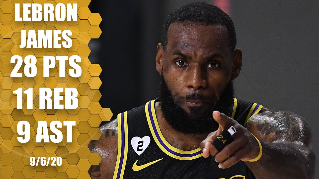 LeBron James goes for 28-11-9 for Lakers vs. Rockets [GAME 2 HIGHLIGHTS] | 2020 NBA Playoffs
