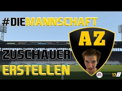 Fifa 17 #DieMannschaft LIVE - Spieler erstellen