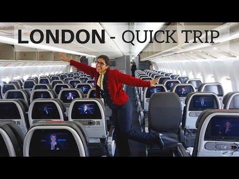 Flight Attendant Life - London for 12 Hours
