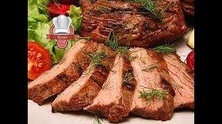 Мясо запеченное в духовке сочно и вкусно