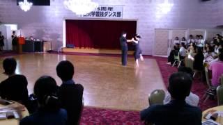 千葉大競技ダンス部55周年パーティー ③現役学生 ��宮城・七条組