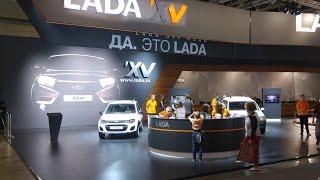 Стенд Lada на MOSCOW OFF-ROAD SHOW 2015 (4k)