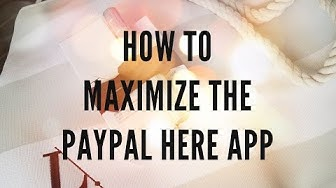 How to use PayPal Here for your Business