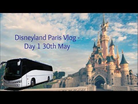 Disneyland Paris Vlog - Day 1, Ferris Coaches & Billy Bob's