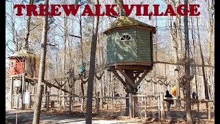 Treewalk Village Adventure Park for Kids at Bruce Mill Conservation Area Stouffville Rd