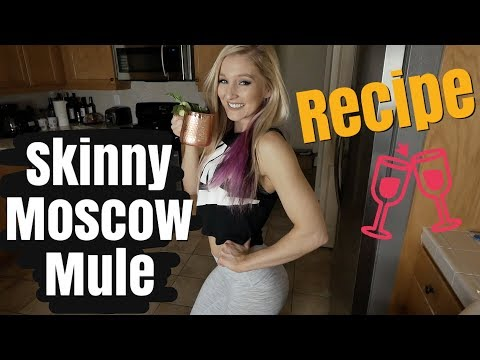 Skinny Moscow Mule || How To Recipe