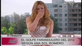 Ana Sol Romero habla de los golpes faranduleros del 2012