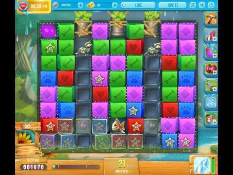 Pet rescue saga pet island 9 level 4 youtube for Pet island level 4