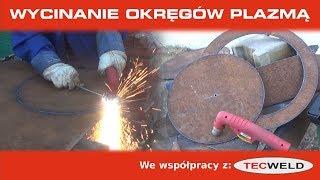 Spawaj z Piranem #30 - Wycinanie kół z blachy - Jak działa cyrkiel do przecinarki plazmowej?