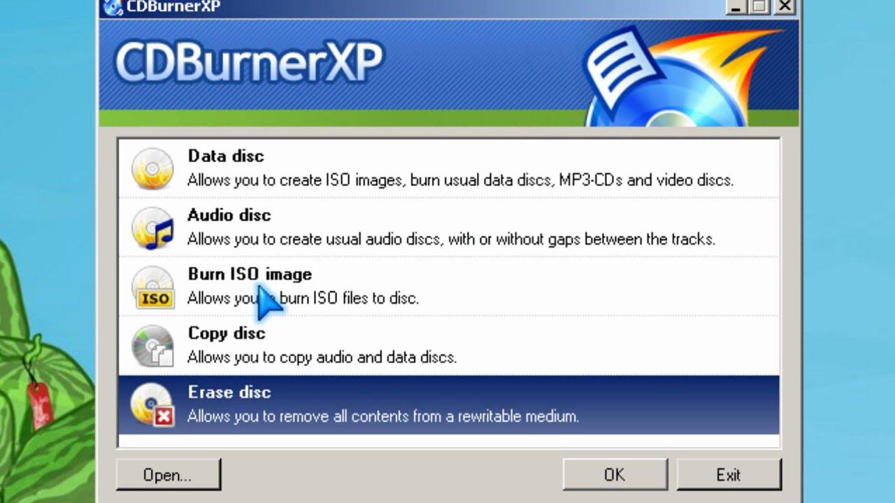 Burn Ubuntu 10 04 LTS Install CD CDburnerXP ISO burner