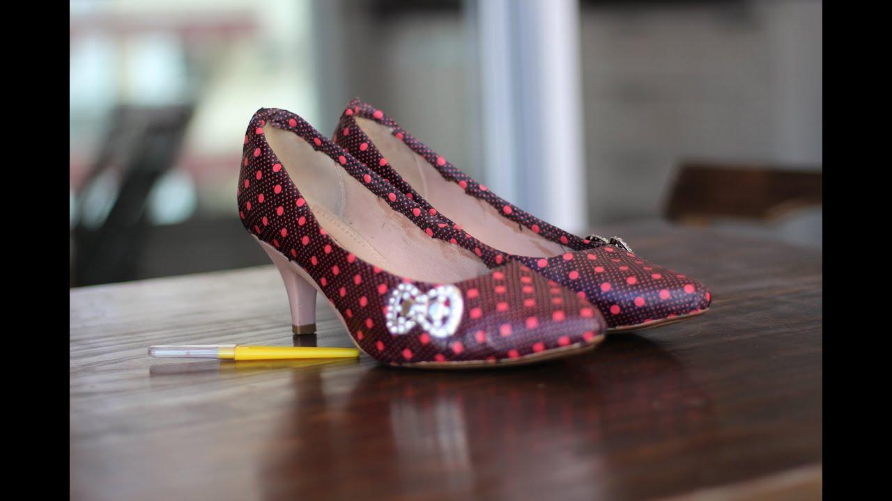 Sapato Customizado Com Retalhos De Tecido  - Youtube-6459