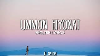 Ummon Hiyonat English Music (Lyrics)   Uzbek 🎶