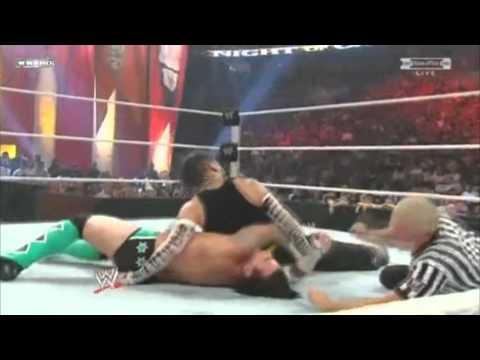 WWE Night of Champions 2009 Jeff Hardy vs Cm Punk Highlights/Resumen