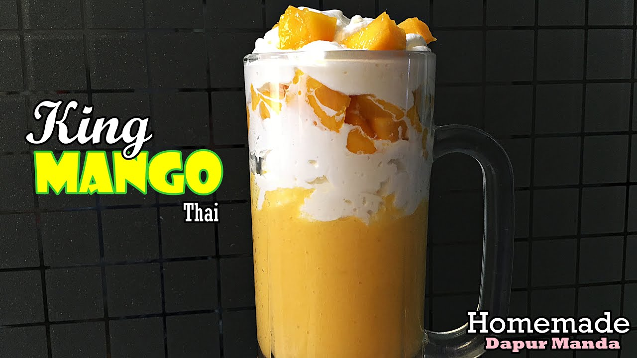 Jus Mangga Sultan - King Mango Thai
