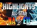 EU vs NA Highlights - League of Legends All-Star 2016 Event