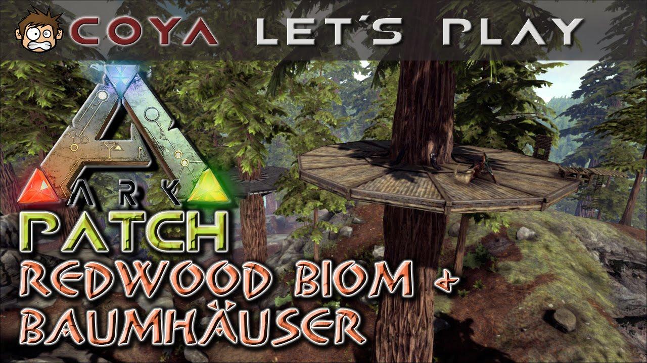 Ark Patchnews Redwood Biom Baumhaus Ark Survival Evolved