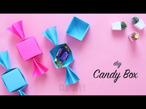 DIY Gift Box Ideas   Candy Box   DIY With Paper