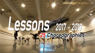 Lessons 2017 - 2019 (25 Choreographies) | Contemporary Dance