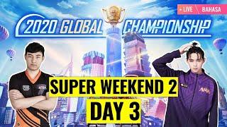 [Bahasa] PMGC 2020 League SW2D3 | Qualcomm | PUBG MOBILE Global Championship | Super Weekend 2 Day 3