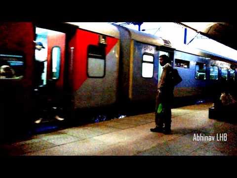 AMRITSAR - CHANDIGARH LHB INTERCITY EXPRESS arrival & departure at JALANDHAR CITY