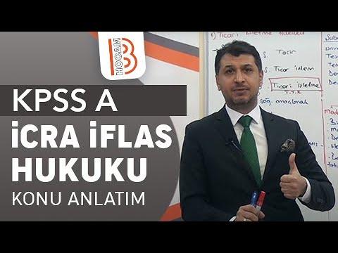 1) Serkan KARAOĞLU - İcra İflas Hukuku / Giriş - I (2018)
