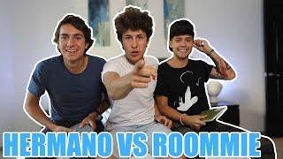 Hermano VS Roommie | Quien conoce mis secretos más oscuros?