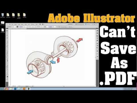 Adobe Illustrator won't save to PDF - If You Can't Save Your File In PDF - Watch This