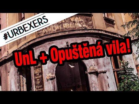 #URBEXERS 19. Díl - Ústí nad Labem + Opuštěná Vila kde Straší!!!