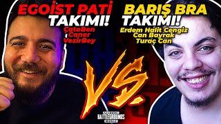 DEV KAPIŞMA! BARIŞ BRA takımı vs EGOİST PATİ takımı - PUBG Mobile