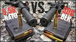 Suppressed 5.56 vs 300blk   How Quiet Is It? [Silencer Series ep. 04]