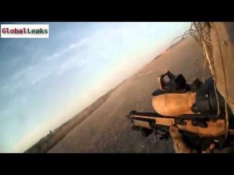 Snipers ambushed by Taliban 2014