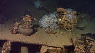 U.S. billionaire discovers WWII shipwreck