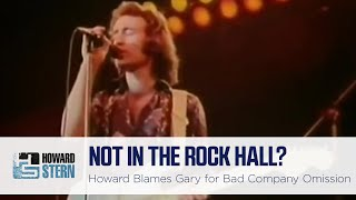 Is Gary Dell'Abate to Blame for Bad Company Not Being in the Rock & Roll Hall of Fame?