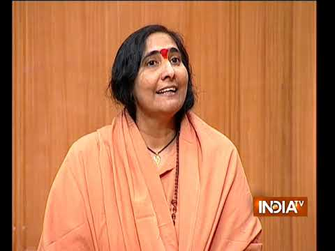 Will Congress support ordinance in parliament on construction of Ram temple in Ayodhya: Sadhvi Rita