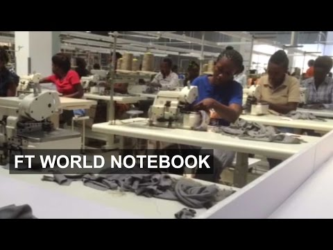 Designs on kickstarting industry in Rwanda | FT World Notebook