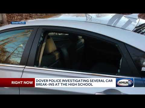 McCabe - 5 Car Break Ins At Dover High School This Week