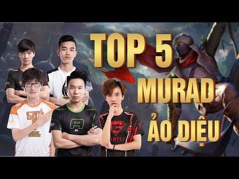 TOP 5 HIGHLIGHT MURAD- AI LÀ NGƯỜI CHƠI MURAD SỐ 1 VN ???